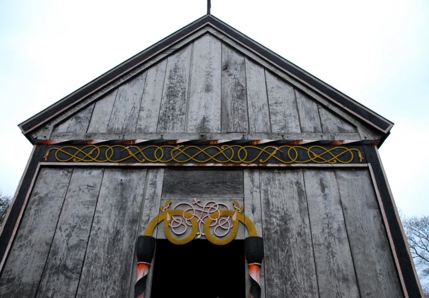Reconstruction Stave Church at Moesgaard Museum