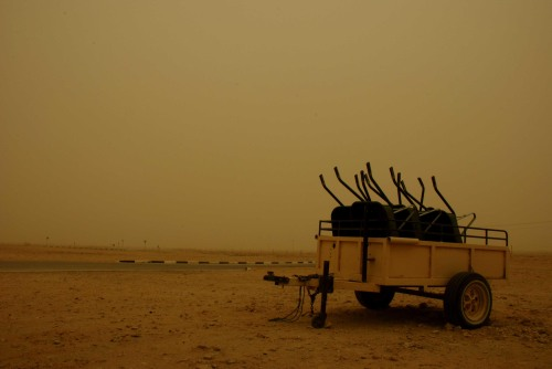 Dust Storm in Qatar, by Daniel Eddisford