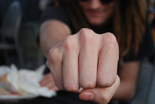 """Fist bump"" by Indy Trendy Skits on Flickr"