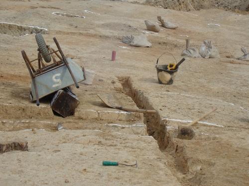 Shilla, South Korea - archaeology, planum